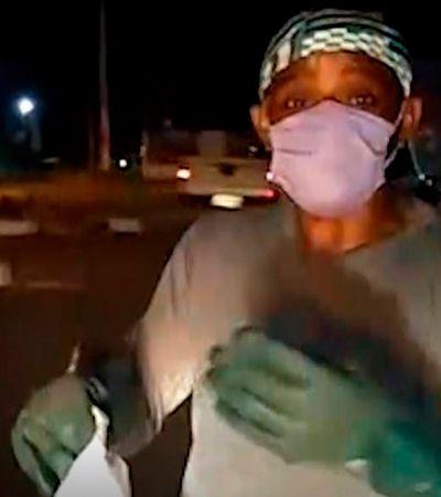 Gari grava vídeo necessário sobre descarte de lixo na pandemia de coronavírus