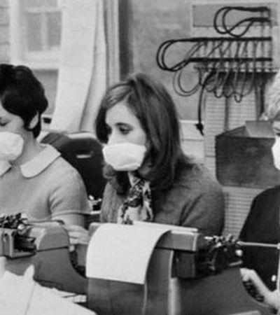 Outra pandemia de gripe com mais de 1 milhão de mortos aconteceu entre 1968 e 1970