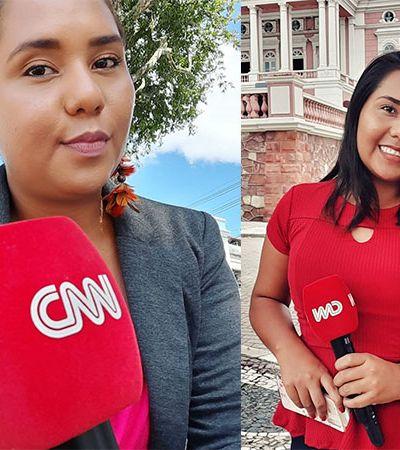 Primeira repórter indígena de rede de TV desmaia após reportagem em Manaus