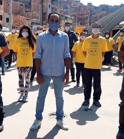 Paraisópolis treina moradores e cria 60 bases de emergência contra coronavírus