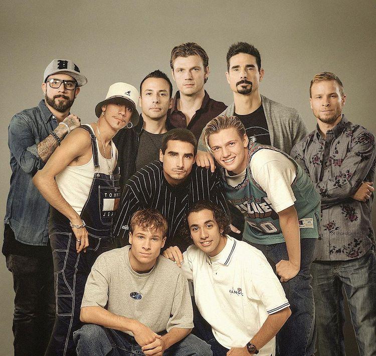 Antes e depois dos Backstreet Boys