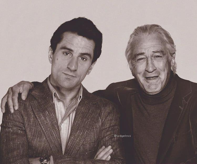 Antes e depois de Robert De Niro