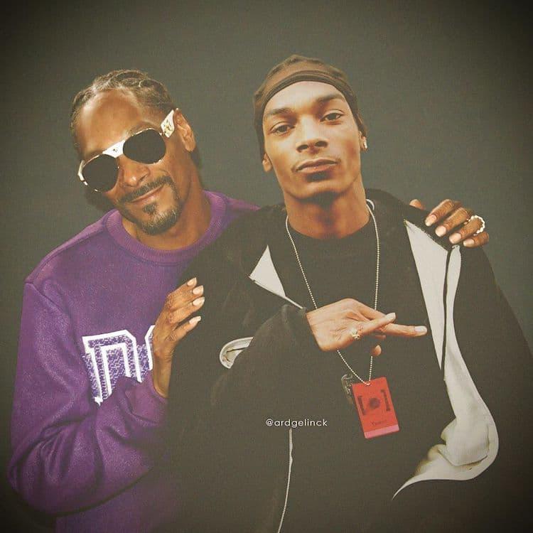 Antes e depois de Snoop Dogg