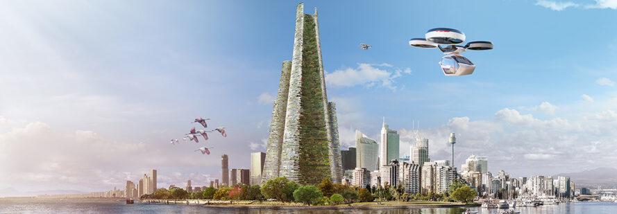 cidade autossustentável futuro 1