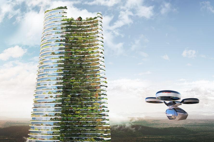 cidade autossustentável futuro 2