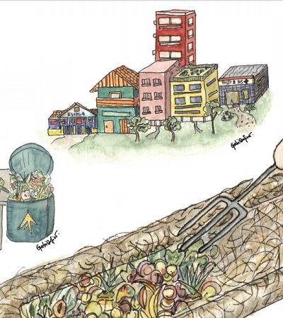 Prefeitura de Floripa lança guia para compostagem comunitária de lixo orgânico