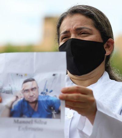 Brasil registra novo recorde mundial de enfermeiros mortos no combate ao coronavírus