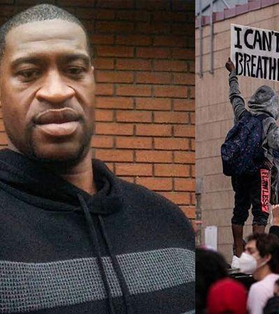 EUA: confronto e viaturas destruídas após policial branco matar homem negro com o joelho
