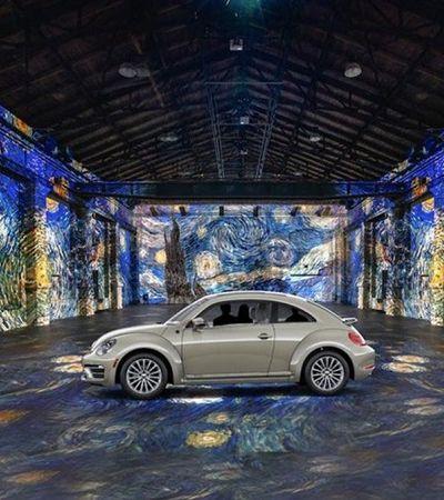 Museu 'drive-in' permite contemplar obras de Van Gogh sem sair do carro