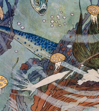 Edmund Dulac ilustrou contos de fadas com fantasia e Art Nouveau durante a Segunda Guerra