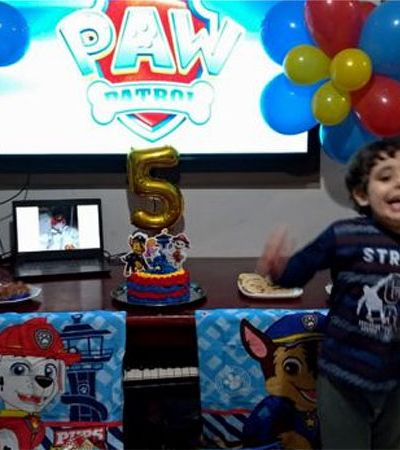O menino com autismo que fez aniversário na pandemia, não recebeu parabéns dos amigos e foi abraçado pela internet