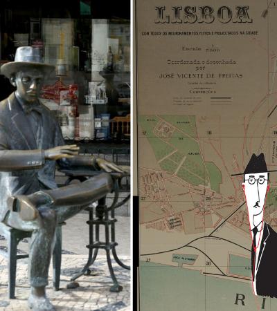 Fernando Pessoa: um passeio sonoro virtual pela Lisboa do poeta português