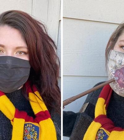 Máscara mágica de Harry Potter se transforma em Mapa do Maroto quando você respira