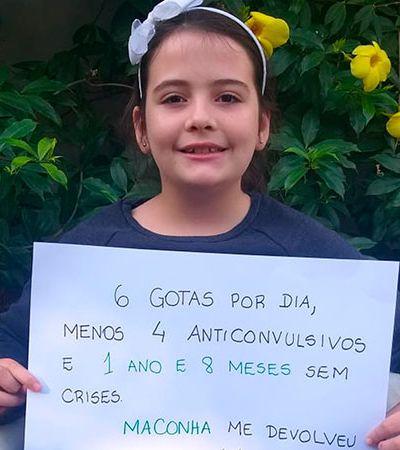 Maconha medicinal zera crise grave e rara de epilepsia em garota de 10 anos