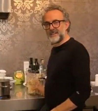As lives de Massimo Bottura pra você arrasar na cozinha na quarentena