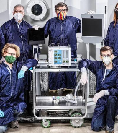Engenheiros da NASA criam respirador de baixo custo com projeto gratuito e aberto