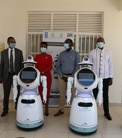 Ruanda desenvolve robôs para auxiliar profissionais de saúde contra coronavírus