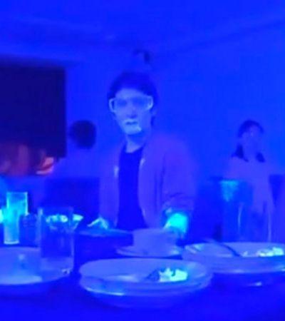 Vídeo mostra como coronavírus se espalha com velocidade em restaurante
