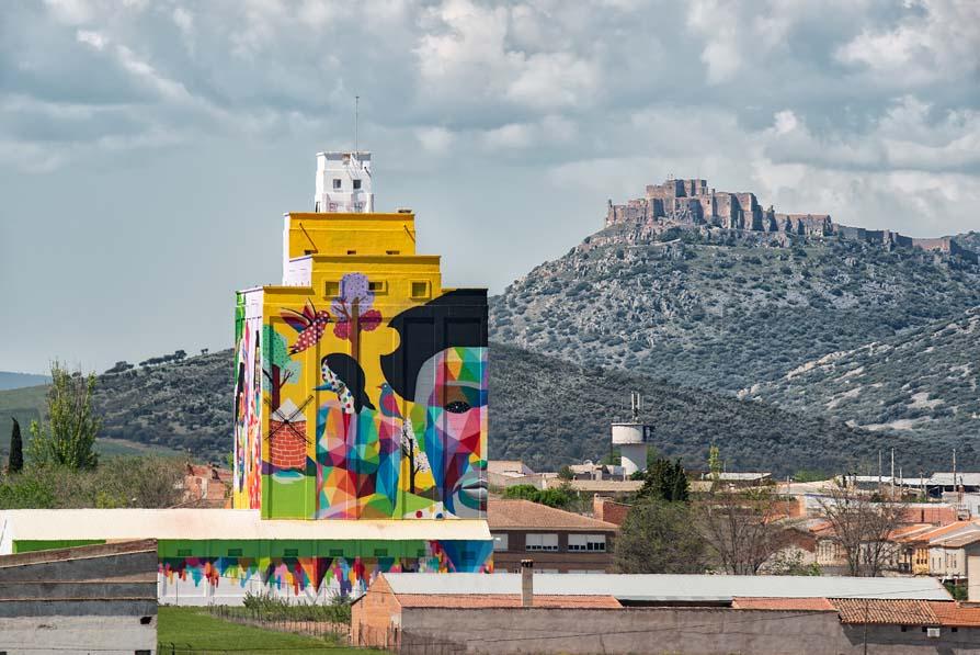 """Legends From La Mancha"", Okuda San Miguel"