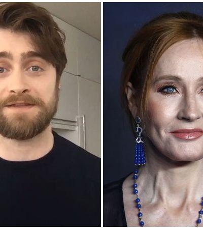 Daniel Radcliffe, de 'Harry Potter', responde J.K. Rowling e diz que 'mulheres trans são mulheres'