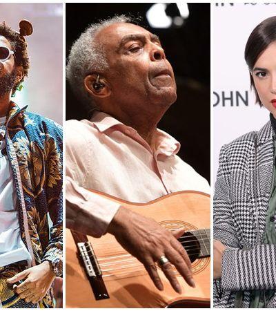 Emicida, Gilberto Gil e Manu Gavassi se apresentam hoje em festival de lives da MTV