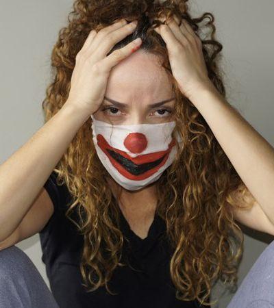 Desespero emocional por quarentena aumentou em abril e se agrava com 'síndrome do palhaço'