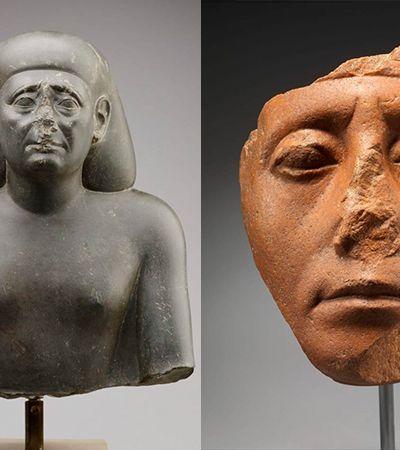 Especialista pode ter encontrado a resposta para estátuas egípcias com nariz quebrado