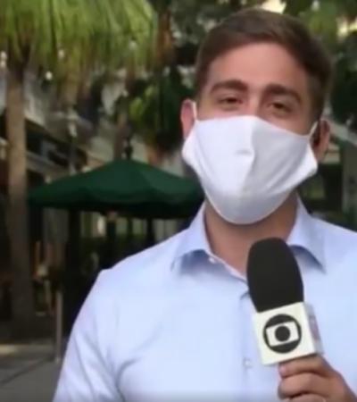 Dia dos Namorados: repórter se declara para o marido ao vivo e pede que ele faça o jantar