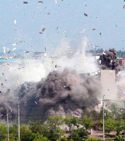 O que levou a Coreia do Norte a explodir o escritório de relações com a Coreia do Sul