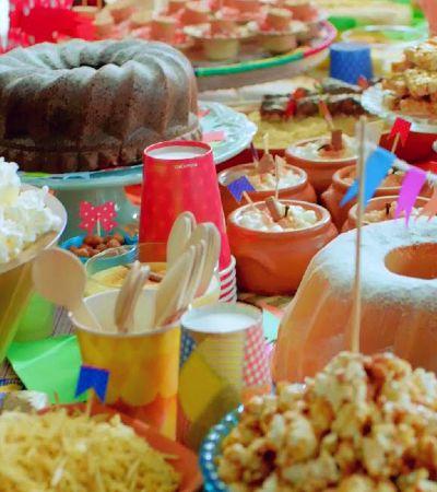 Dicas gostosas e divertidas para fazer uma festa junina de respeito dentro de casa