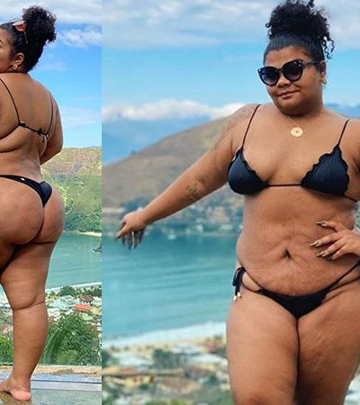 Filha de Arlindo Cruz, Flora posta foto de biquíni e desabafa contra padrão de beleza: 'Venci mais um tabu'