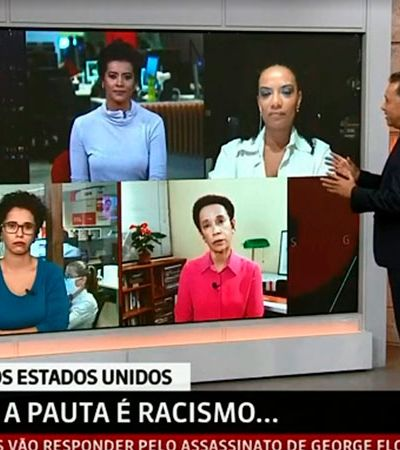 Globonews escala só jornalistas negros em programa após críticas por representatividade