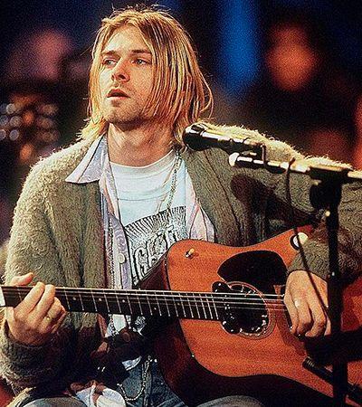 Violão de Kurt Cobain é leiloado como o mais caro da história por motivo político