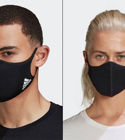 Adidas lança máscara feita com recicláveis e que permite respiração fácil