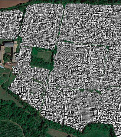 Pesquisadores mapeam em detalhes cidade da Roma Antiga sem precisar escavar