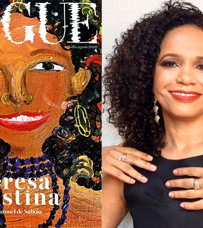 Teresa Cristina, rainha das lives na pandemia, ganha homenagem na capa da Vogue