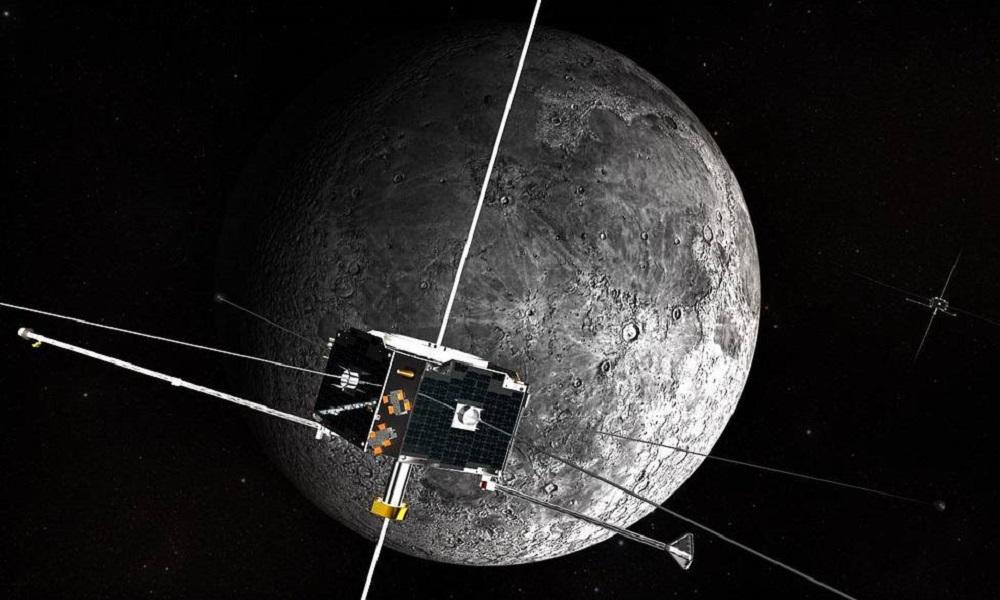 Ilustração realista mostra Artemis em órbita ao redor da Lua
