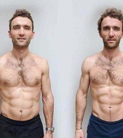 Gêmeos idênticos separados por 12 semanas de veganismo comparam resultados