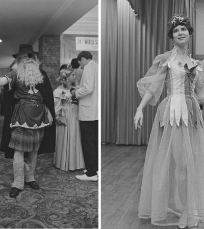 Visionários do cosplay arrasavam nas fantasias nos anos 1960