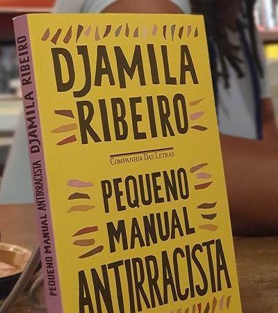 'Pequeno Manual Antirracista', de Djamila Ribeiro, é o livro mais vendido do país