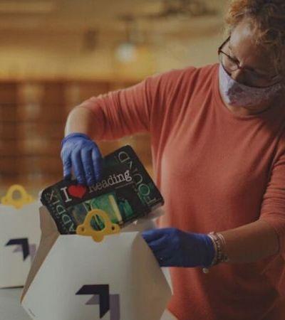 Livraria usa drones para distribuir livros infantis durante quarentena na Virginia