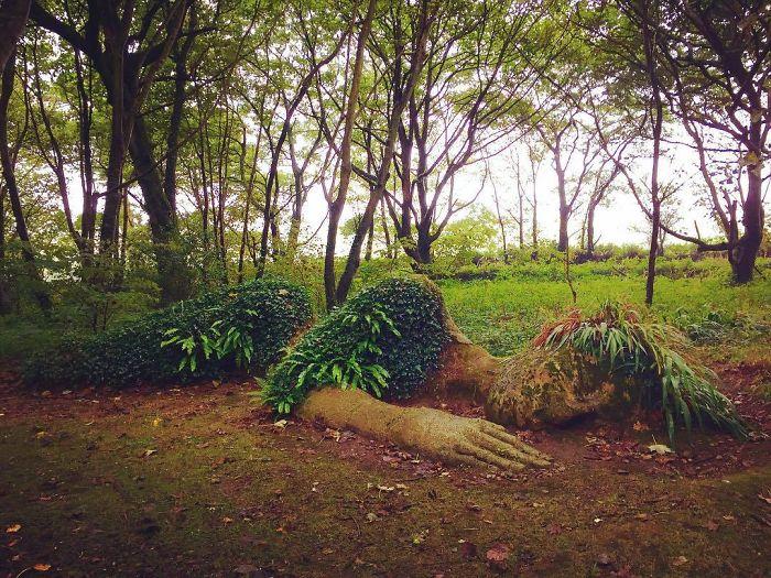 escultura viva jardim europa 2