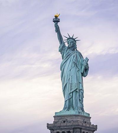 Conheça a aparência original da Estátua da Liberdade antes de oxidar