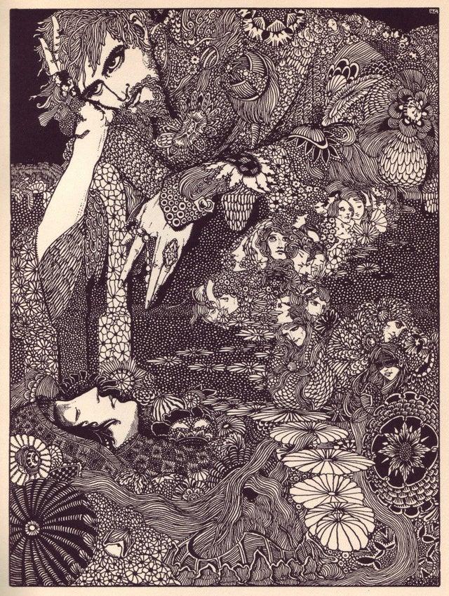 ilustrações art nouveau Harry Clarke 1