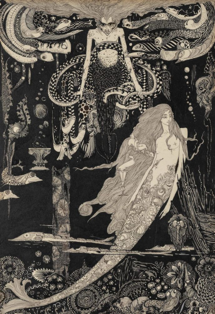 ilustrações art nouveau Harry Clarke 2
