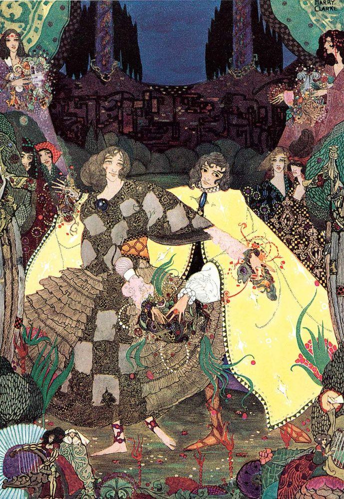 ilustrações art nouveau Harry Clarke 3