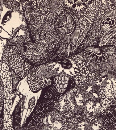 As ilustrações macabras de Harry Clarke são o prelúdio da Art Nouveau