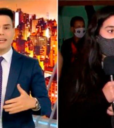 Luiz Bacci recebe lição ao vivo no 'Cidade Alerta' após exemplo do que não é jornalismo