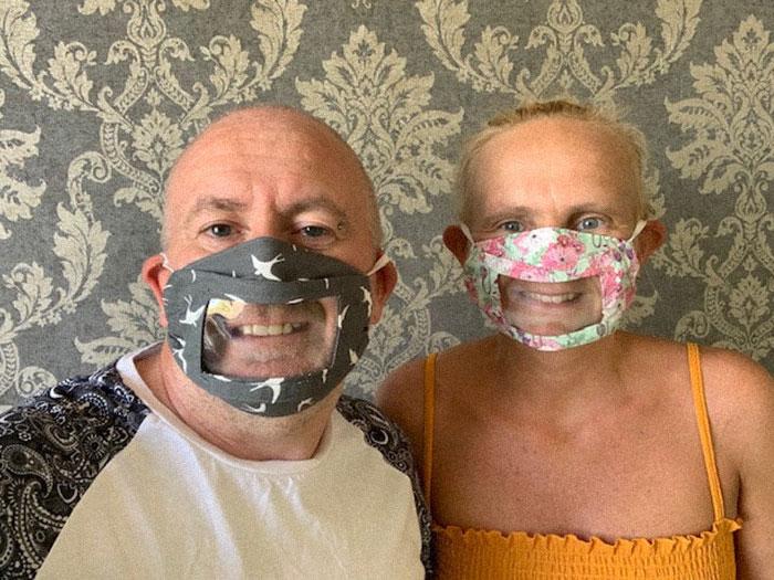 máscara para surdos 3