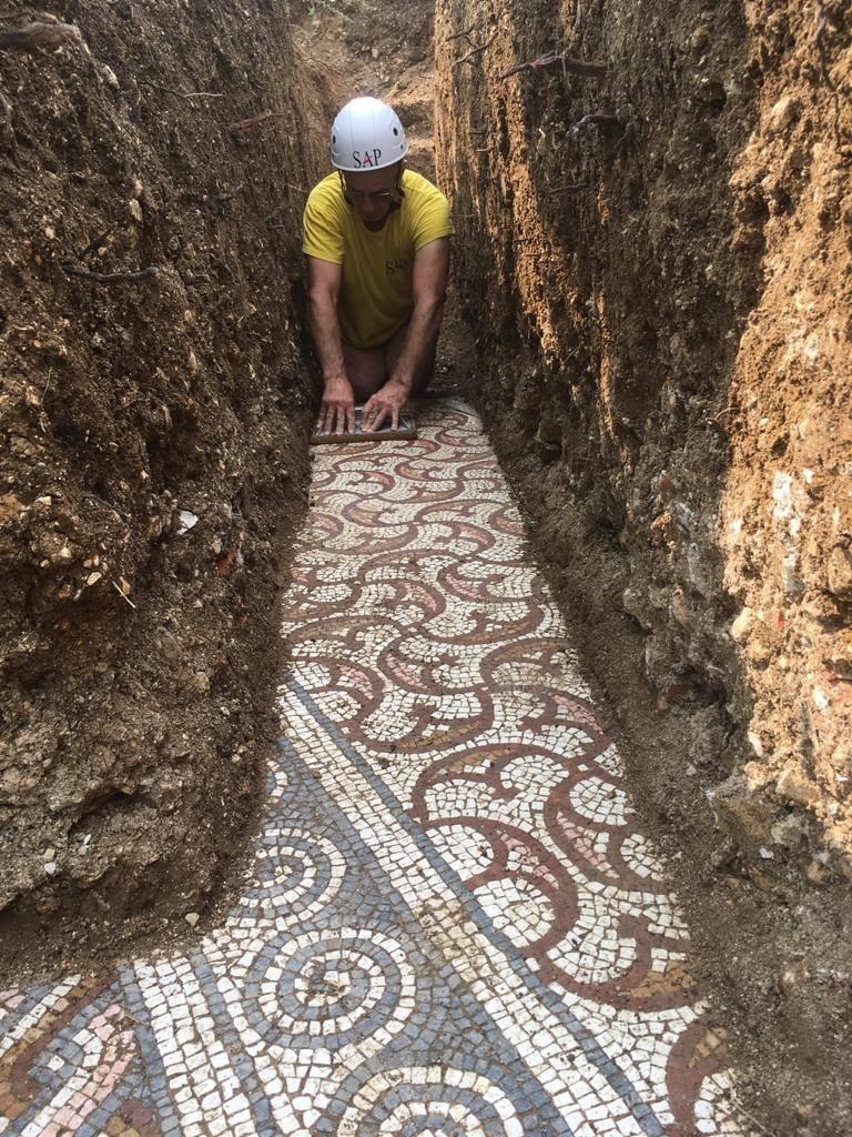 mosaico romano itália 1